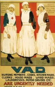First World War VAD poster by Joyce Dennys