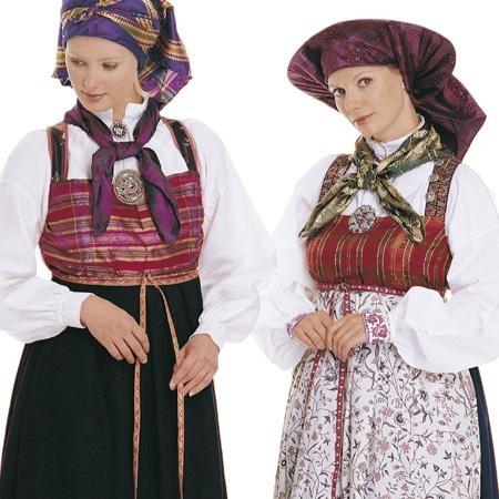 Vest-Telemark costumes.