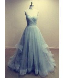 Grey Sexy Ball Gown Satin&Tulle  Sweetheart Strapless  Floor Length Wedding  Dress  GYW2001