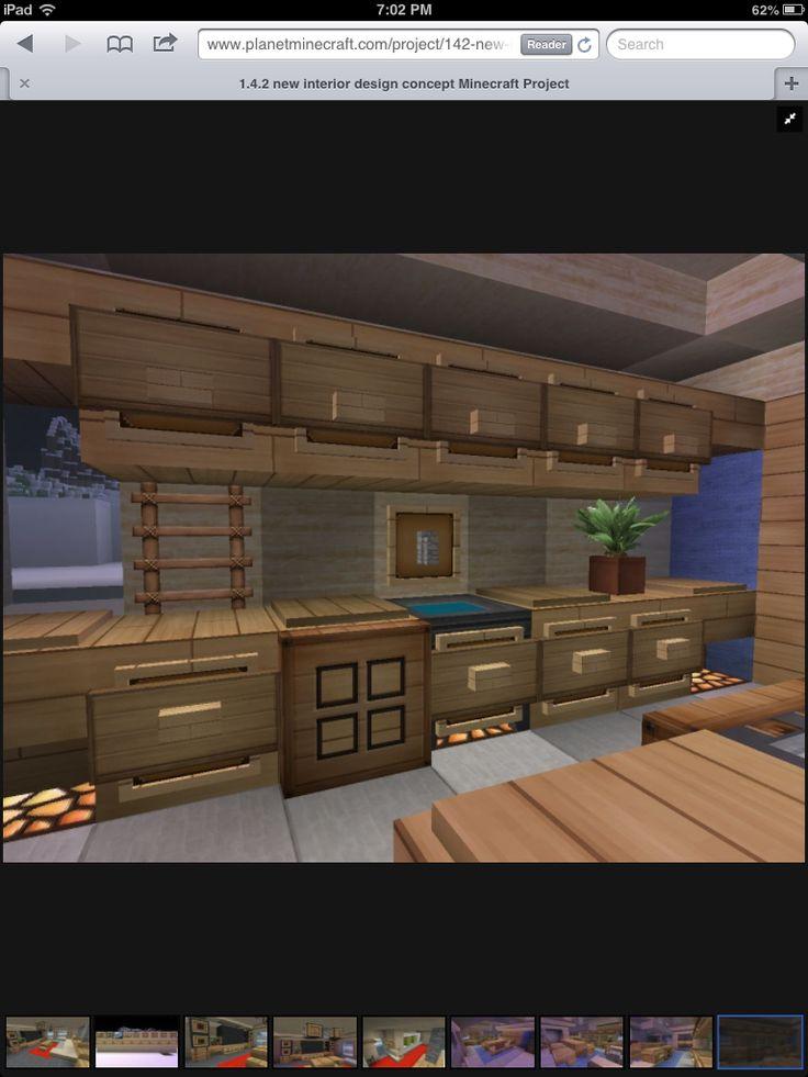 Kitchen Design Ideas Minecraft 35 best minecraft interior design images on pinterest | minecraft