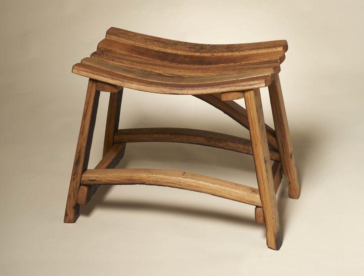 Best wine barrel furniture images on pinterest