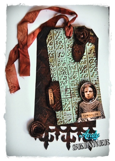 Timeless Treasure made with Tim Holtz Alterations
