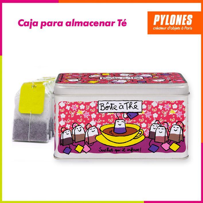 Caja para almacenar té #Hogar #Casa #Color