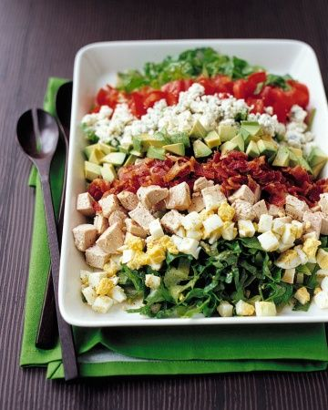 Martha Stewart - Turkey Cobb Salad with turkey leftovers
