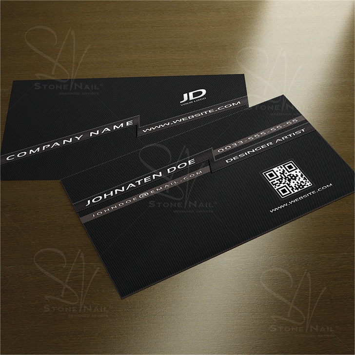 18 best card design images on pinterest business card design modern black business cards design by stonenail reheart Image collections