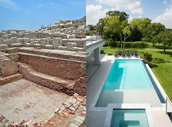 2for2sday The First Swimming Pool Dates Back To Over 5 000 Years Ago In Mohenjo Daro Pakistan Since Then Romans Liked T Platinum Pools Pool Swimming Pools