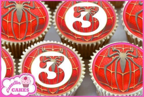 24 x #spiderman age 3 edible cupcake #toppers cake rice premium #paper 8961,  View more on the LINK: http://www.zeppy.io/product/gb/2/271575103639/