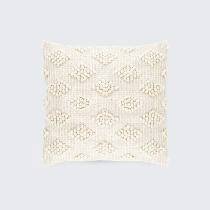 chunky soft and extremely cozy this piece brings a touch of texture and warmth to any room hand loomed using pure sheeps wool this textile is an easy