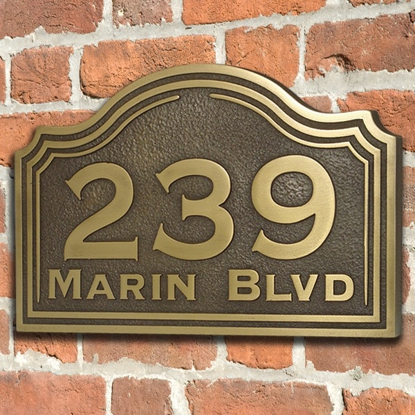 Classic Colonial Address Sign Home Numbers Plaque Custom For You Inches By Atlas Signs