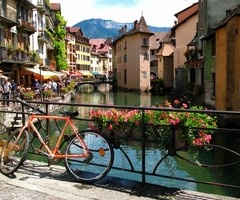 .Favorite Places, Summer Day, Dreams Vacations, Beautiful Places, Places I D, Bikes Riding, Venice Italy, Travel, Annecy France