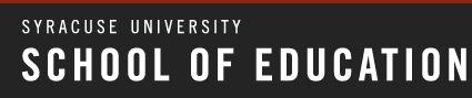 Syracuse University School of Education Termination Exercises
