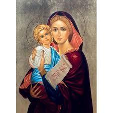 Znalezione obrazy dla zapytania matka boża niepokalana medjugorie