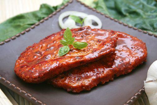Krůtí maso s marinádou a chilli