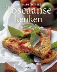 De Traditionele Toscaanse Keuken -  Emanuela Stramana - ISBN 9789044710847 - € 11,85   De diverse informatie over de gerechten en de wijnen en de verrukkelijke foto's maken dit kookboek bijzonder en authentiek.  Toscane, il cuore, wordt beschouwd als de ziel en het hart van Italië. Behalve de landschappelijke en culturele schoonheid is ook de keuken van deze streek uniek.  Lees meer... http://www.bol.com/nl/p/de-traditionele-toscaanse-keuken/1001004002844420/