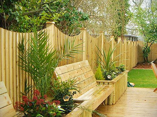 Garden Wooden Fence Designs wood fence designs fences gates design for outdoor garden Some Best Wooden Fencing Ideas That Will Bring Warmness And Taste To Your Backyard