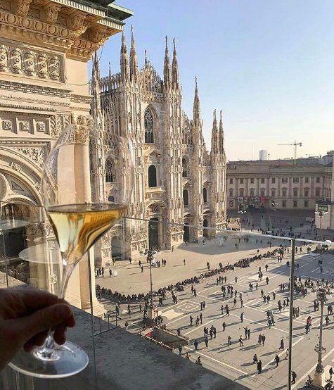 Awesome shot from Milan! #Milan #Milano #Italy