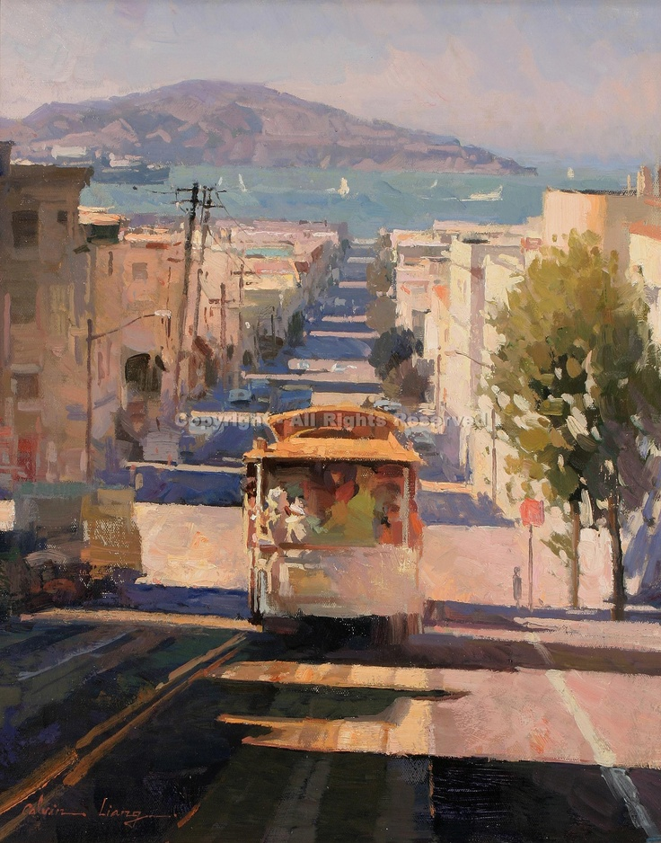17 best images about california art on pinterest terry o for San francisco landscape