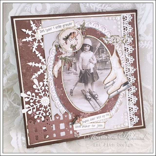 Gammeldags jul - Pion Design
