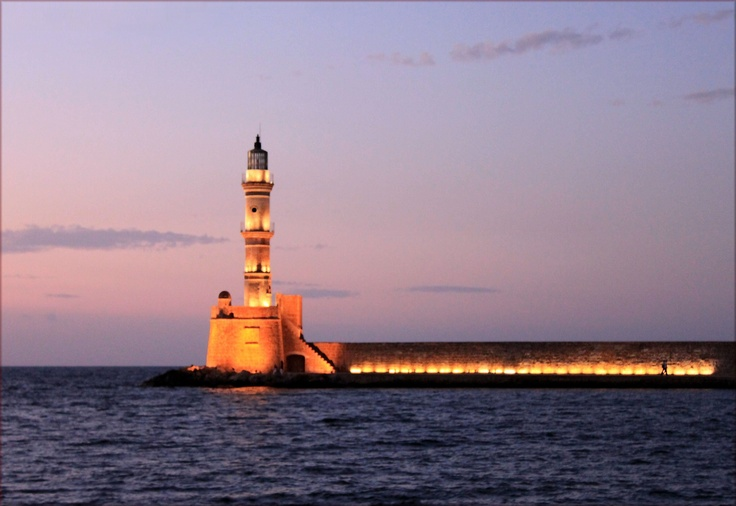 Lighthouse of Chania, Crete, Greece.: Favorite Places, Beauty Place