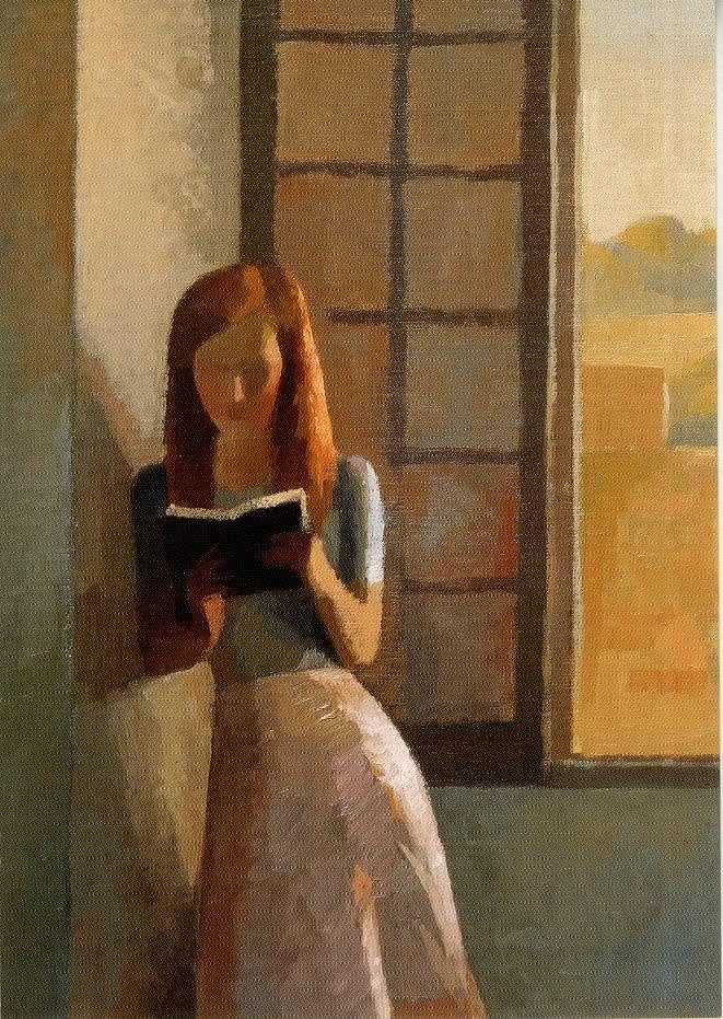 Women Reading - books0977: La fin d'après-midi, détail, or, The...