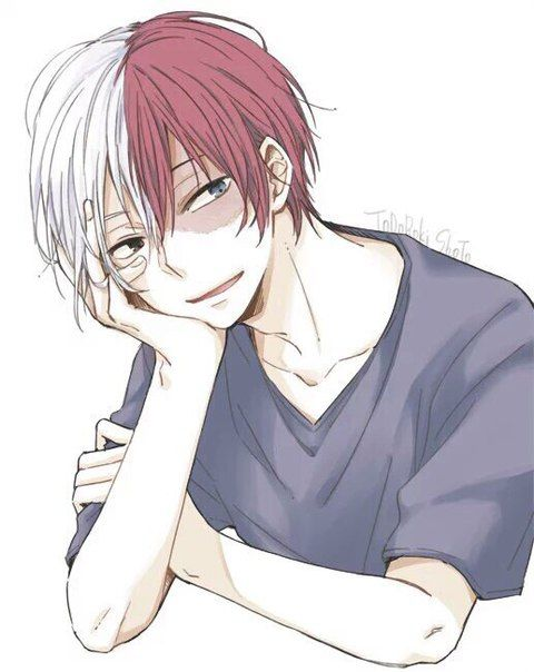 Anime Characters Reader : Best images about todoroki shouto on pinterest