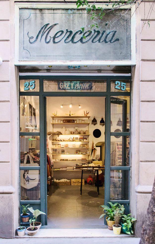 Grey Street & Satan's Coffee Corner Carrer Peu de la Creu, 25 http://www.hellomatilde.com/2013/04/grey-street/