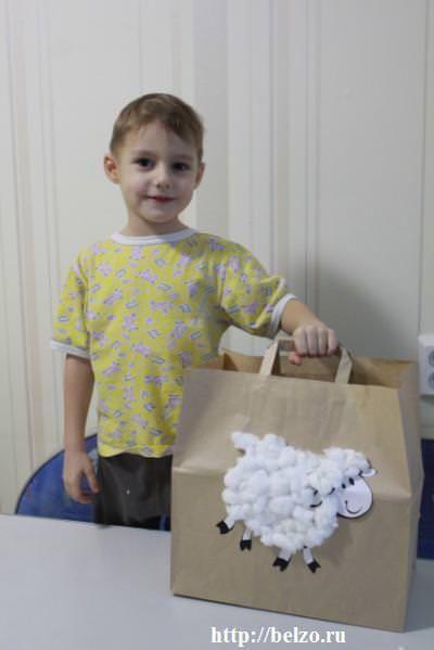 новогодняя упаковка для детских подарков
