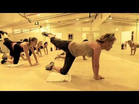 Tracy Anderson, the woman responsible for Gywenth Paltrw's workouts, kicks your butt! literally! You can do ths every day, and I'm challenging myself to that routine for the next month!