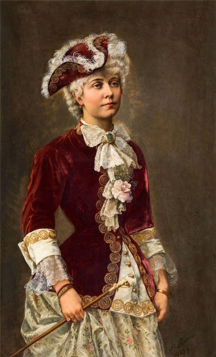 Henriette Maurus (Austrian, 1854 - 1880?) . Обсуждение на LiveInternet - Российский Сервис Онлайн-Дневников