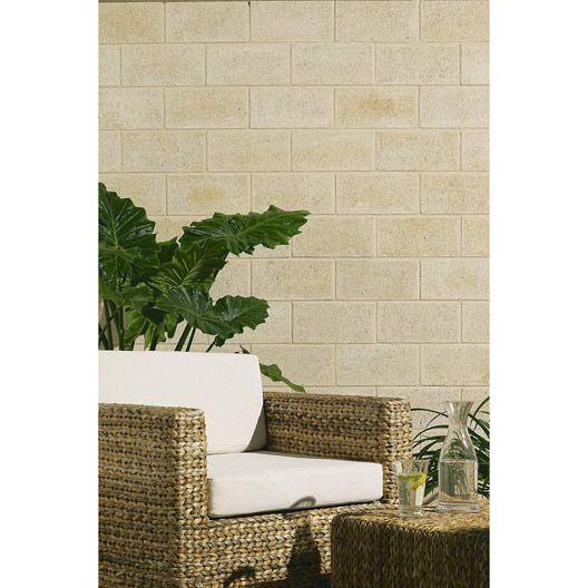 Las 25 mejores ideas sobre parement mur exterieur en - Plaquette de parement mur exterieur ...
