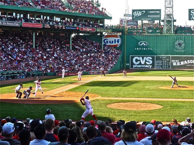 Catch A Baseball Game At The Cozy One Of A Kind Fenway Park In Boston Massachusetts Fenway Park Boston Fenway Park Baseball Park