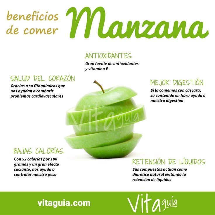 Los beneficios para la #salud de la manzana