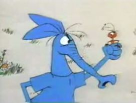 The Ant and The Aardvark...I forgot about this one. I think it was a part of the Pink Panther cartoons.