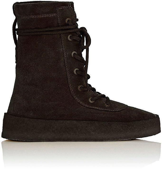 Yeezy Men's Crepe-Sole Boots
