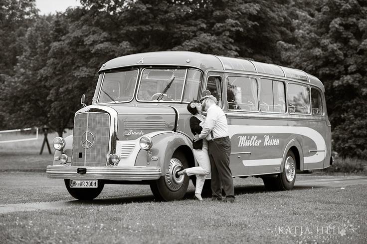 Oldtimer Bus  www.katjaheil.de