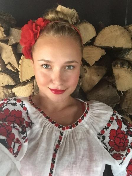 Hollywood actress Hayden Panettier, wife of Wladimir Klitschko