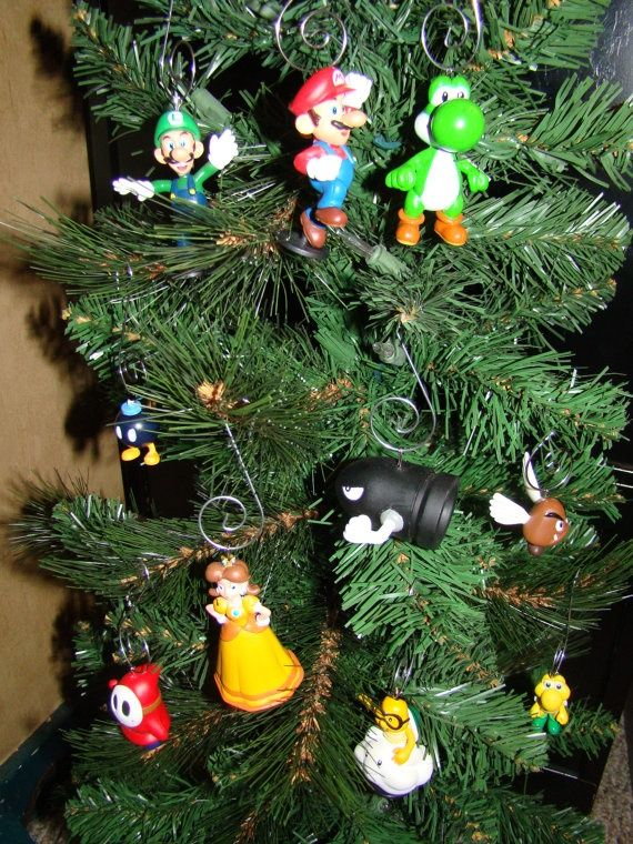 Nintendo Christmas Ornaments | Nintendo, Christmas ornament and ...