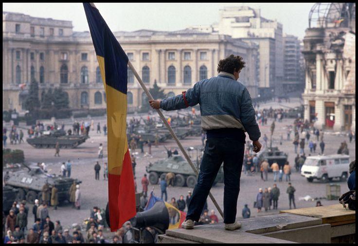 Romanian Revolution. Bucharest, 1989. ...
