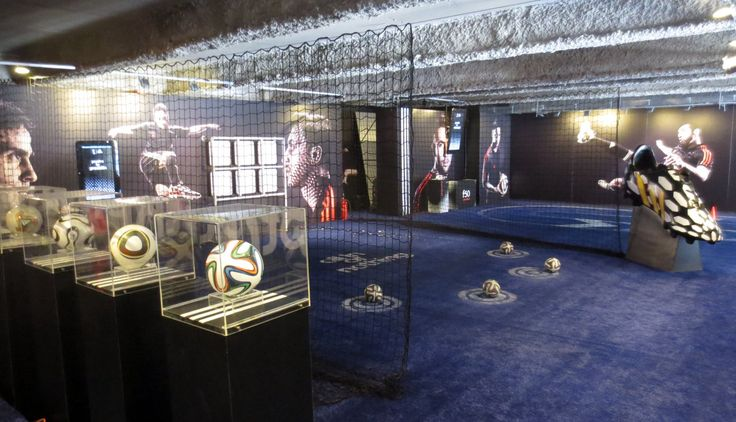 Adidas Battle Pack Store, emotional link to Football World Cup