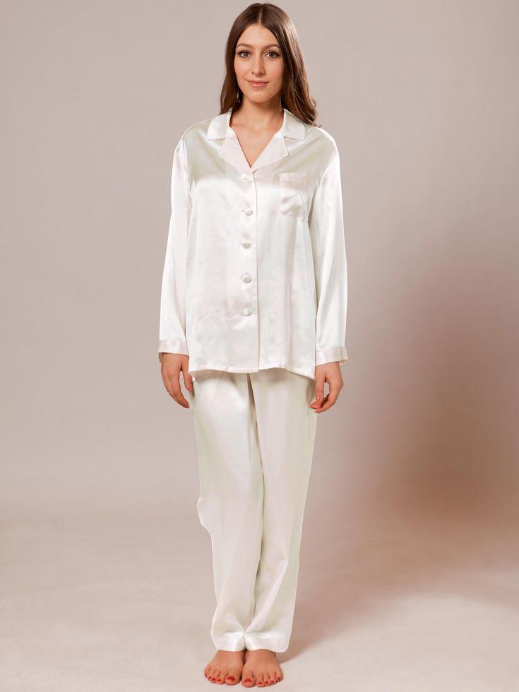 women's silk pajamas #silkpyjamas