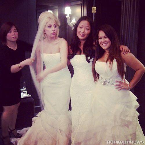 Дженни гарт в свадебном платье