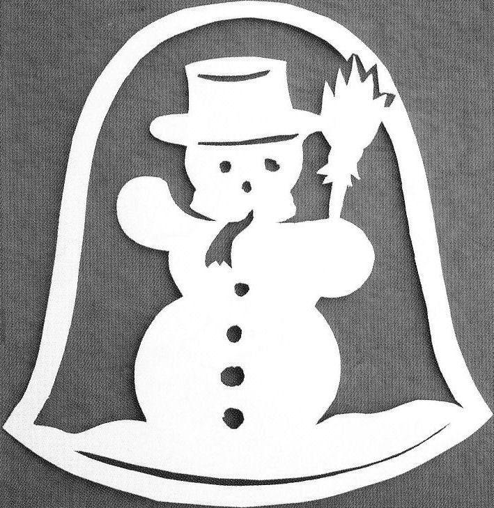 Zvonek se sněhulákem