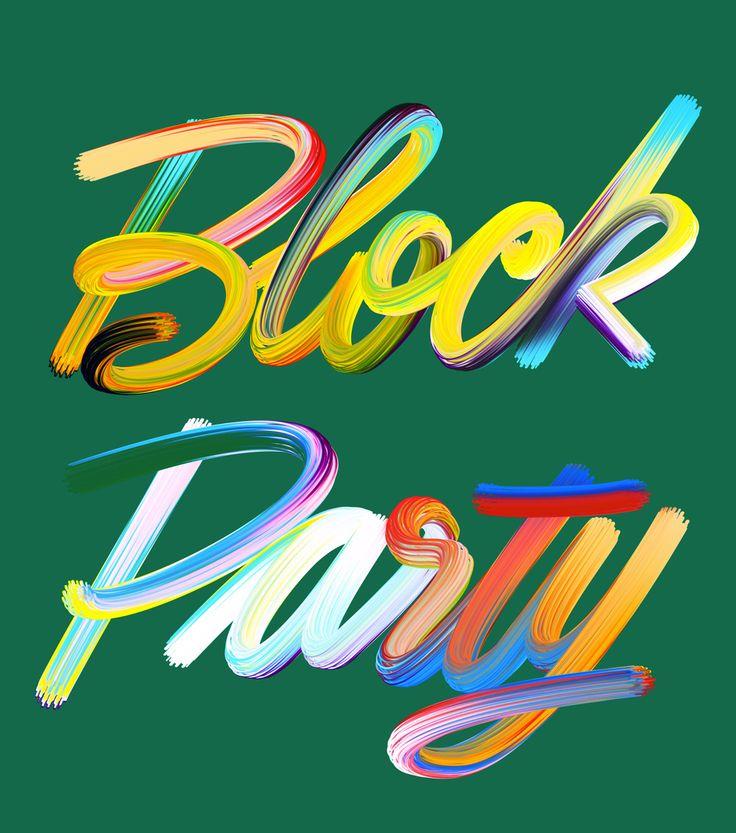 DANIEL TRIENDL, BLOCK PARTY 2015.
