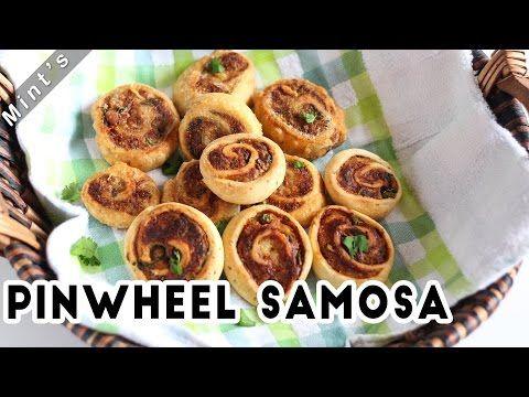 Pinwheel Samosa Recipe-Appetizers Recipes-Breakfast Recipes-Bhakarwadi Recipe in Hindi-Ep-153 - YouTube