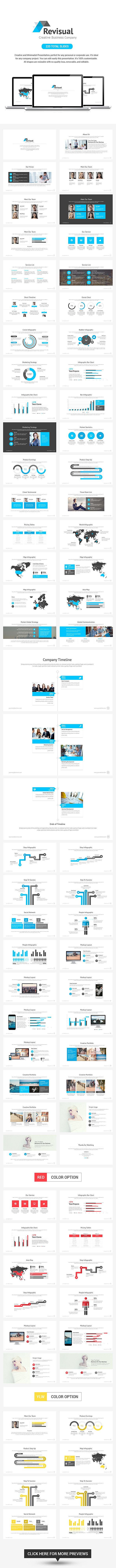 77 best powerpoint templates themes images on pinterest products revisual powerpoint template toneelgroepblik Images