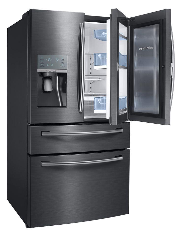 Samsung Rf28jbedbsg 36 Inch Black Stainless Steel French Door