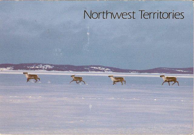 Travels with postcards around the world: NORTHWEST TERRITORIES