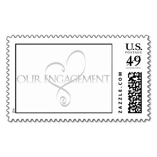 Best Engagement Party Postage Stamps Images On