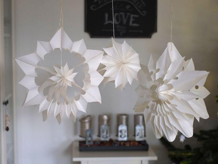 DIY #Butterbrottüten Sterne/DIY Wedding Paper Stars #DIY