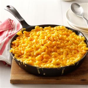 """Homey Mac & Cheese Recipe -I also call this """"My Grandson's Mac & Cheese."""" Zachary has been to Iraq and Afghanistan with both the Marines and Navy, and I've been privileged to make his favorite casserole for him for over 20 years. —Alice Beardsell, Osprey, Florida"""